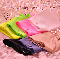 Wholesale non trace ice silk underwear Ms pure color candy color fluorescent underwear Panties
