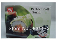 Wholesale Easy Sushi Maker Roller equipment perfect roll Roll Sushi with color box kitchen accessories
