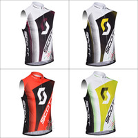 Wholesale low price Supply Sco Cycling sleeveless jersey cycling clothing vest Maillot wicking breathable cycling clothes