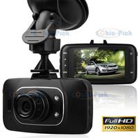 Wholesale GS8000L P Full HD quot inch TFT LCD Screen G sensor degree Car DVR Dash cam Road Driving Video recorder Camera HDMI IR