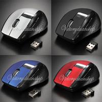 Wholesale New Mini Ghz to DPI Ajustable RF Wireless Optical Mouse Mice USB Receiver for PC Laptop Desktop
