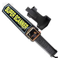 Wholesale Professional Hand Held Metal Detector Guard Security Wand with Adjustable Sensitivity and Vibration