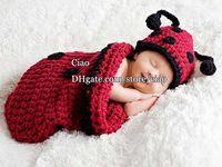 Wholesale Children Caps Kids Hat Baby Crochet Hats Boy Girl Wool Cap Animal Hats Fashion Sleeping Bags Newborn Baby Hats Kids Cap Hand Knitted Caps