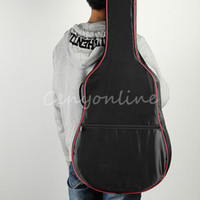 acoustic bass guitar case - Padded Classic Acoustic Guitar Bass Inch Back Carry Cover Case Bag Holder mm Shoulder Straps Music Student