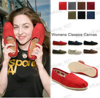 2014 new brand tms 28 colors Women's casual solid canvas sho...