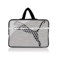 Wholesale 13 quot Silver Leopard Neoprene Soft Laptop Netbook Sleeve Bag Case Cover Hide Handle For inch Apple Macbook Pro Retina Air