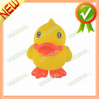 Cheap Duck Animal Shape Rubber Bath Toy for Kid With Sound Effect, Free Shipping, Dropshipping