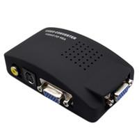 av video switch - TV AV Composite RCA S Video to PC VGA Converter Switch Drop shipping