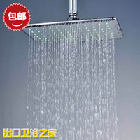 Cheap Bathroom Shower Heads  Bathroom Shower Sets  bathroom shower heads  Air pressurized water-saving shower head top spray overhead shower recta