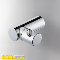 Wholesale Copper shower head holder shower seat accessories holder be rotated