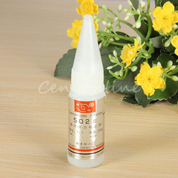 502 Super Glue Instant Quick-drying Cyanoacrylate Adhesive Strong Bond Fast For Leather Rubber Metal 20g