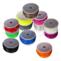 Cheap 1KG 12 Colors New 3D Printer 3mm PLA Filament with spool For Makerbot Mendel Printrbot Reprap UP Repraper Prusa Free Shipping