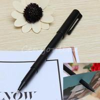 paper money - Double Use Close up Magic Trick Prop Pen Penetration Thru through Note Paper Money Bill Misled Tool