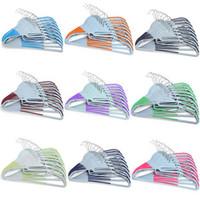 clothes drying rack - Wet and dry slip hanger magic hanger slip hanger racks to hang clothes drying racks optional g