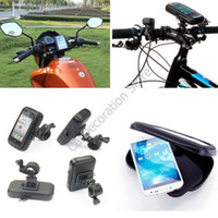 Wholesale New Car Motorcycle Phone Holder Navigation Waterproof Touch Bag for Galaxy S4