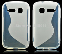 alcatel skins - For Alcatel C1 Case New S Line Soft TPU Gel Skin Cover Case For Alcatel One Touch POP C1