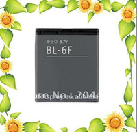 Cheap 20PCS LOT,BL-6F BL6F rechargeable mobile phone battery for N95(8G) N78 N79