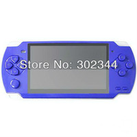Wholesale 4 inch G MP4 MP5 PMP Handheld Game Player Console bulit in camera FM TV OUT