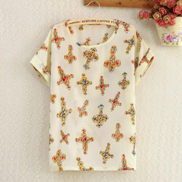 Wholesale Summer new women s short sleeved t shirt chiffon shirt female factory direct Korean female short sleeved t shirt shirt bottoming