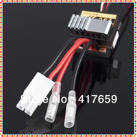 Wholesale A Brushed Electric Speed Controller Brush ESC by Nickel NiMH V For RC Car boart Truck Buggy Free shi