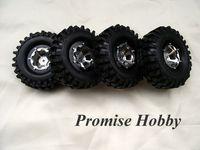 Wholesale alloy beadlock wheel amp crawler tire tyre for rc rock crawler car buddies