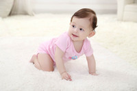 Wholesale 2014 Arrival Baby Bodysuits Baby Sleeping Kids Pajama Clothing Set Baby Boys Girls Bebe Clothing