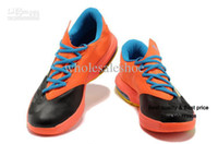 Cheap Fast Shipping 2013 High Quality Famous Player Kevin Durant KD VI 6 Basketball Shoes KD V 5 Shoes Men Athletic Shoes Size 41-47