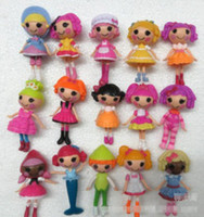 Wholesale Hot Sell Fashion Children New Lalaloopsy Kids Mini Doll Mini Cute Baby Doll Decoration Girls Gift Cartoon Lovely PVC styles set E0311