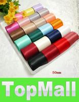 Wholesale JJ923 mm Polyester Sash Ribbons yards DIY Hometextile Assorted Color Satin Ribbon