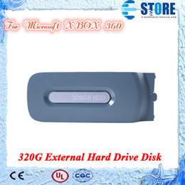 320GB HDD 320G disco rígido externo para Microsoft XBOX 360 Alta qualidade, frete grátis, wu