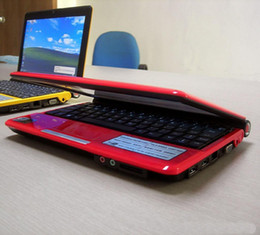Wholesale 2014 new arrival mini inch netbooks laptops computer intel D2500 GHZ GB GB Windows portable pc camera wifi