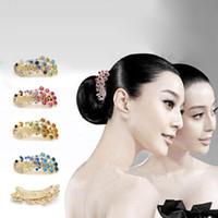 Wholesale Free ship pc Peacock hairpin top hair accessory cross diamond hair clip Headgear hair orn