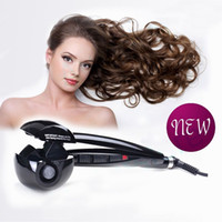 Cheap 5pcs New Titanium Hair Curler Professional Automatic Hair Roller machine Heat-styling Tools With Retail Box