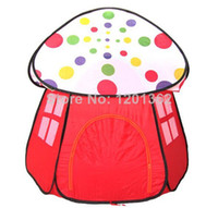 Cheap Childern kids Playing Indoor&Outdoor Mushroom House Kids Play Game Kids Toy Tents 110*118CM