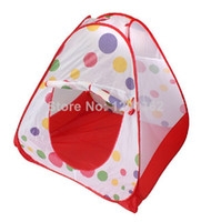 Cheap Childern kids Playing Indoor&Outdoor Pop Up House Kids Play Game Kids Toy Tents 82*82*90CM