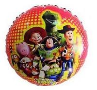 party happy birthday - 2014 Hot Sell Helium Balloons Children Boys Girls Happy Balloons Inches Cartoon Circular Wedding Birthday Party Festival Balloon E0313