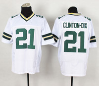 Wholesale Authentic Ha Ha Clinton Dix Jersey White Packer Elite Football Jerseys Top Quality New Season American Football Team Uniforms Sale