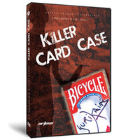 Wholesale Shoe magic teaching JP Vallarino amp a Yuri Kaine Killer Card Case magic video send by email accept paypal