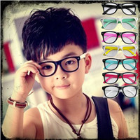 Wholesale Children s Eyewear Kid s Eyewear Sunglasses Specs without corrective lenses Lovely Sunglasses Frames Fashion Ornaments Jewelry Accessories