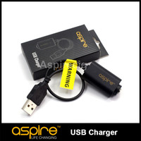 Cheap Wholesale - Aspire ego USB charger for charging all ego Battery Aspire USB charger for All E cigarette Free Shipping