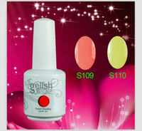 Wholesale Gelish Nail Polish Soak Off Nail Gel For Salon UV Gel Colors ml amazing DHL free