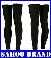 Wholesale New SAHOO Team black Cycling Bike Outdoors Sports Leg Warmers High Elastic Cycling Leg Sleeve for Men s Women