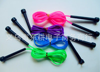 best jump rope - Best price Plastic Skipping Rope Jumping Fast Speed Gym Training Sports Exercise M color New
