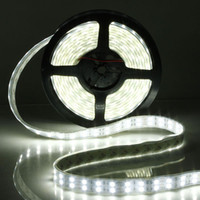 Wholesale 120LEDs m Double Row SMD LED Strip V Silicone Tube leds Waterproof IP flexible led Light warm white cool white
