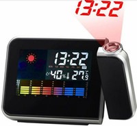 other 13.8 mm led Cheap Digital LCD Screen LED Projector Alarm Clock Mini Desktop Multi-function Weather Station by Free Shipping