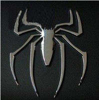 Wholesale Fashion Metal Car sticker D car sticker Spider price CAR