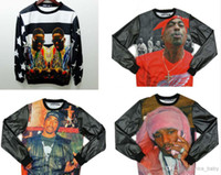 animal citi - Hip Hop Brand Streetwear Fashion Citi Trends Clothes Inc Leather Hoodie Crew Neck Sweatshirts Biggie pac Tupac Sweatshirt