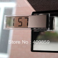 Wholesale Car electronic clock car electronic watch suction cup glass lcd car table car table auto supplies