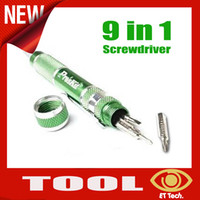Wholesale NEW HOT in Aluminum Handle Precision Screwdriver Set SD Repair Tool for phone Computer Watch