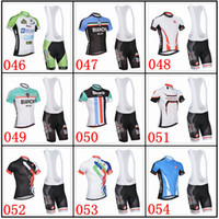 spandex clothing - Cas And Bian chi Cycling Jersey Set Short Sleeve Men Cycling Clothing High Elastic Spandex Top Class Lycra Cycling Wear XS XL Can Mix Size